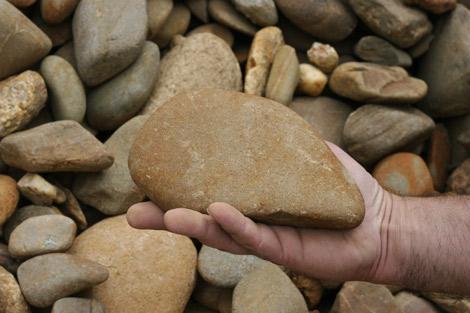 Big Rock Building Garden Supplies
