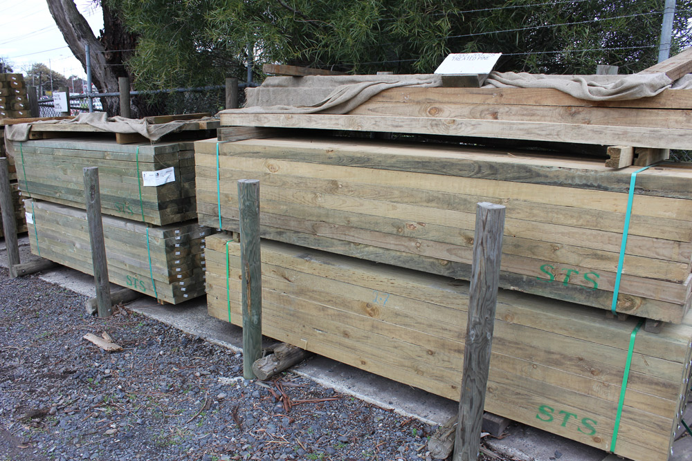 Big Rock Garden Supplies Garden Sleepers Melbourne | Wooden