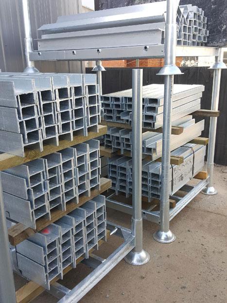 Big Rock Garden Supplies Galvanised Steel Retaining Wall